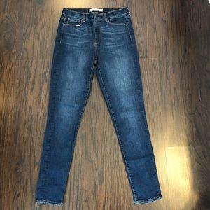 Gap 1969 Women's True Skinny Jeans High Rise